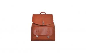 Rucsac dama, geanta pentru femei din piele ecologica, maro