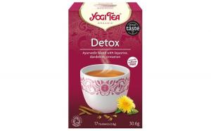 Ceai Bio DETOXIFIANT, 30.6g Yogi Tea