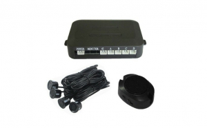 Set 4 senzori parcare cu afisaj si sunet BEEP - BEEP