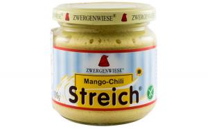 Crema tartinabila BIO vegetala cu chili si mango, 180 g ZWERGENWIESE