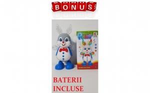 Jucaria Iepurasul Dansator ( Dancing Rabbit) + Bonus Baterii Incluse