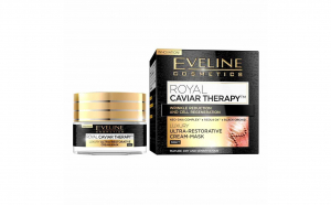 Crema-masca de noapte Eveline Cosmetics Royal Caviar Therapy 50ml