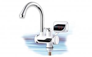 Robinet Electric pentru apa calda instant, 60°C, 3000W, afisaj LED