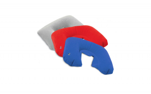 Perna gonflabila pentru gat, pentru calatorii, zona cervicala, 38 x 25 cm DEK9004