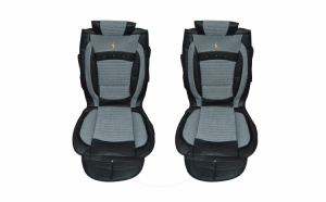 Huse scaune auto universale, Editie Premium, textil cu insertii piele ecologica -  Mr. Smart