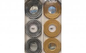 Oglinzi + Ceas pentru design-ul camerei