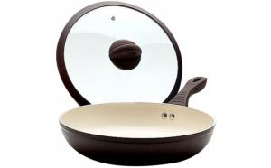 Tigaie cu invelis ceramic nonaderent cu capac 26x5.5cm Mayers & Boch 0183107