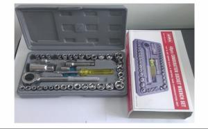 Trusa completa cu 40 chei tubulare, universale si cutie depozitare