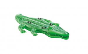 Figurina gonflabila Crocodil 203x114cm, sustine doi copii