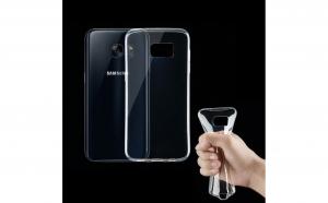Husa silicon Samsung Galaxy S7 Transparenta