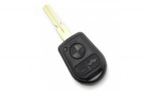 BMW - Carcasă cheie 2 butoane cu lamă 4 piste