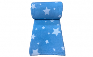 Patura Groasa Bleu cu stelute