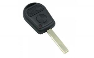 BMW - Carcasă cheie 3 butoane cu lamă 2 piste
