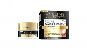 Crema concentrata anti-rid Eveline Cosmetic Royal Caviar Therapy  40+ 50ml