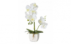 Aranjament orhidee artificiala in ghivec, Decoratiuni Casa