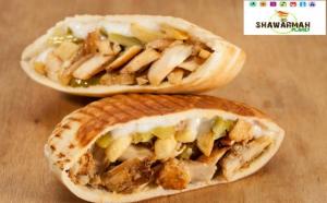 Plateste 30 RON in loc de 60 RON si beneficiezi de oferta speciala: 2 Saj Shawarmah (pui sau vita) + 2 Pita Shawarmah (pui sau vita) + 2 Ayran oferite de Shawarmah Planet Centrul Vechi!