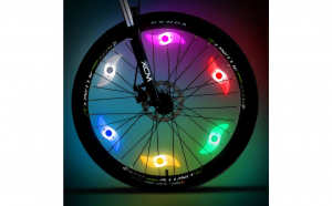 Lumini LED Spite Bicicleta sau Motor Rosu/ Albastru/ Verde
