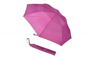 Umbrela femei, de poseta/geanta, usoara, pliabila, cadru metalic, d 85 cm, Woolworths, mov