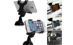 Suport Auto Parbriz / Geam Telefon Universal Reglabil W 360, la doar 19 RON in loc de 49 RON
