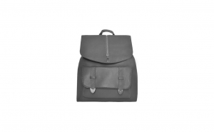 Rucsac dama, geanta pentru femei din piele ecologica, gri