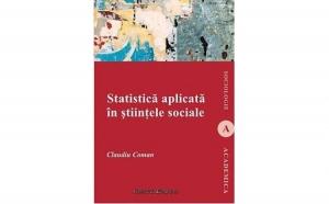 Statistica aplicata in stiintele sociale, autor Claudiu Coman