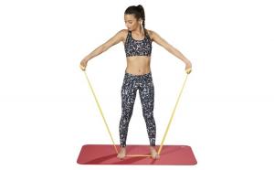 Banda elastica dezvoltare musculatura Aerobic-Avansati L 2.5 m