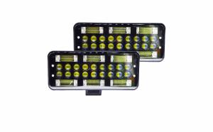 Set 2 proiectoare LED, 199W