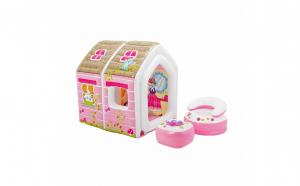 Spatiu de joaca gonflabil Intex - Princess play house, 124 x 109 x 122 cm