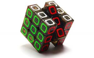 Cub Rubik 3x3x3  Qiyi Dimension, 198CUB