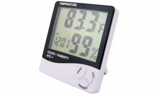Ceas digital cu termometru
