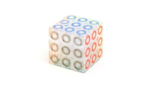 Cub Rubik 3x3x3 Crystal, 85CUB