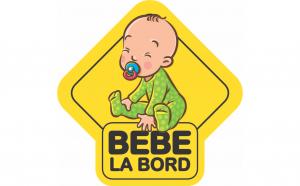 Baby on board Suzeta II Sticker Autocolant