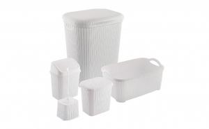 Set pentru baie din plastic cu 5 piese