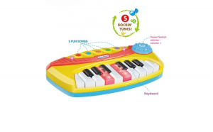 Mini pianina de jucarie interactiva, MZ
