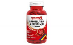 Supliment alimentar Bromelaina  Curcumin