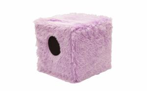 Boxa cub cu lumini colorate - acoperita cu puf