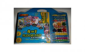 Caiet de colorat cu accesorii