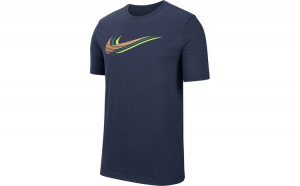 Tricou barbati Nike Sportswear Triple Swoosh CK4278-410