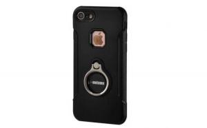 Husa Apple iPhone 6/6S Motomo Ring Negru