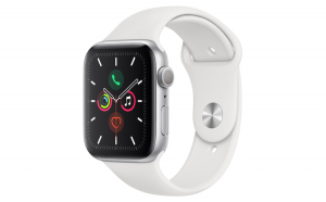 Curea Silicon Premium MTP White pentru Apple Watch 38mm