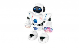 Robot de jucarie, King of The Dance, cu lumini si muzica