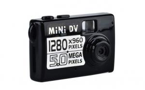 Mini Camera Cu 3 Functii: Foto+Video+Audio