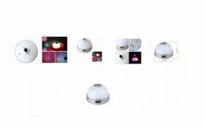 Ceas cu proiectie si 5 functii - proiecteaza un cer de noapte instelat pe tavanul camerei