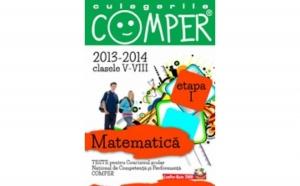 CULEGERILE COMPER. MATEMATICA. CLASELE V-VIII. ETAPA I. 2013-2014, autor Colectiv Paralela 45