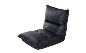 Puf tip scaun cu saptar reglabil Negru