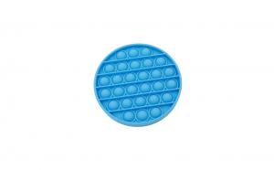 Jucarie POPIT din silicon 12 cm albastra