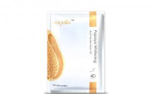 Masca servetel 4D cu extract de papaya pentru iluminarea tenului cu pistrui, OEM