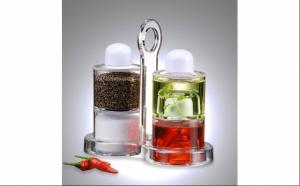 Oliviera - set condimente - ulei, otet, sare si piper