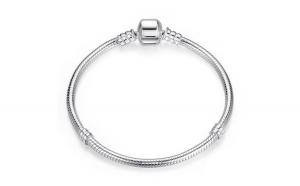 Bratara pentru talismane din argint 925 Silver Snake