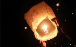 Set 10 Lampioane multicolore zburatoare, la 34 RON in loc de 125 RON